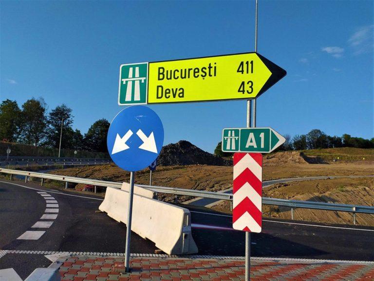 43 de kilometri de autostradă finalizați și care zac nefolosiți.