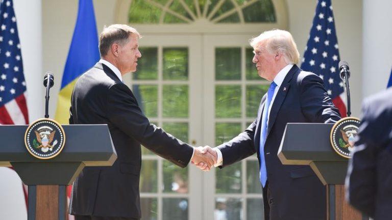 Donald Trump se întâlnește cu Klaus Iohannis, pe 20 august, la Casa Albă