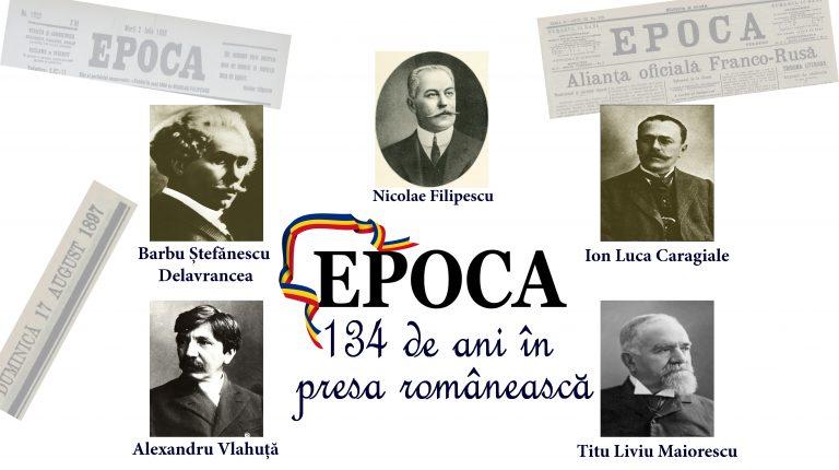 134 de ani în presa românească!
