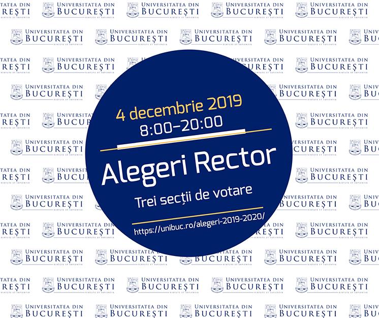 Universitatea din București își alege noul rector