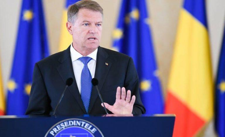 Scenariul cu alegerile anticipate este 50% realist, a spus Klaus Iohannis