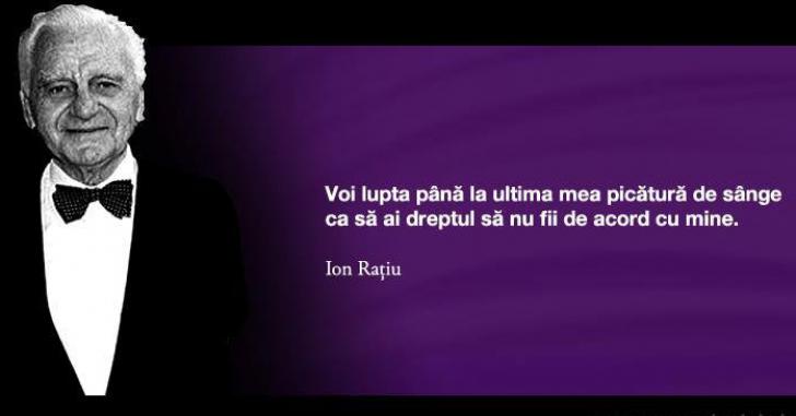 Se împlinesc 20 de ani de la trecerea la Hristos a lui Ion Rațiu