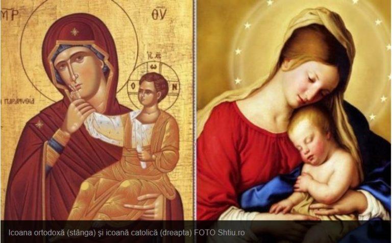 Care sunt principalele deosebiri între icoanele ortodoxe şi cele catolice
