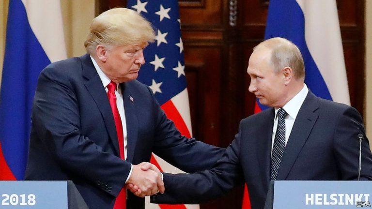 """Trump şi Putin salută """"spiritul Elbei"""" într-un comunicat comun, o premieră în ultimii zece ani"""