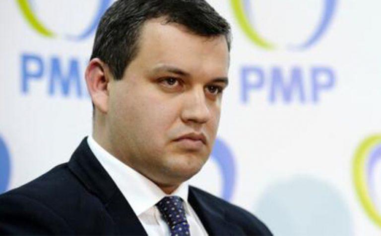 """Presedintele PMP,Eugen Tomac, Solicită Preşedintelui si Guvernului Să Acţioneze""""Hotărât Şi Eficient"""""""